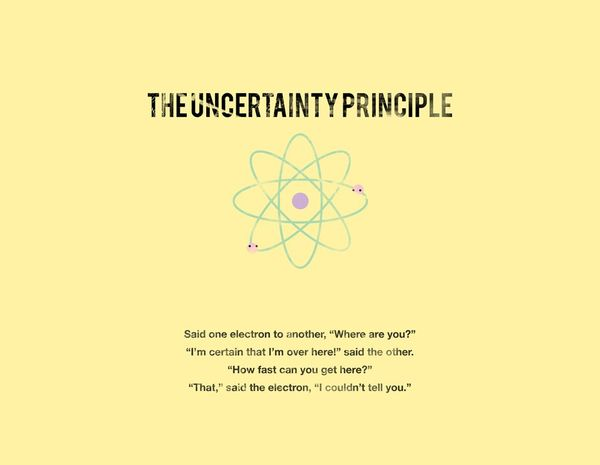 "The Uncertainty Principle: What it means and why I like to ""Take Things Slow"""